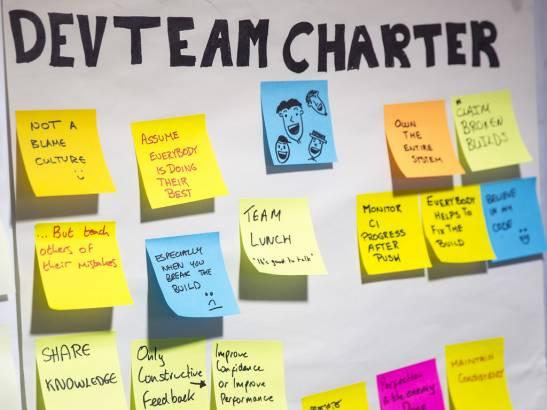 team di sviluppo