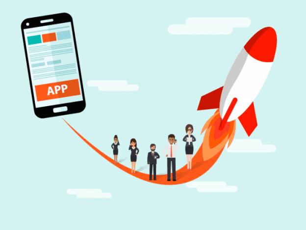 sviluppare un'app business