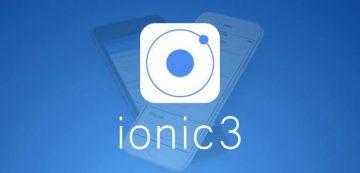 ionic 3 nextre