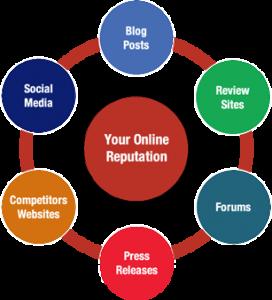 diagramma reputazione online