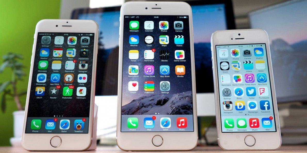 3 diversi iPhone