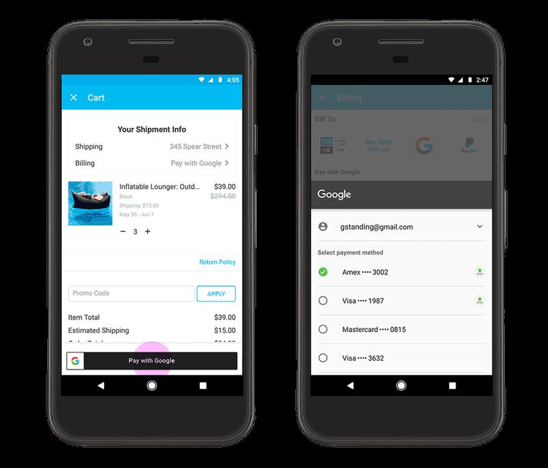 Google Assistant pagamenti