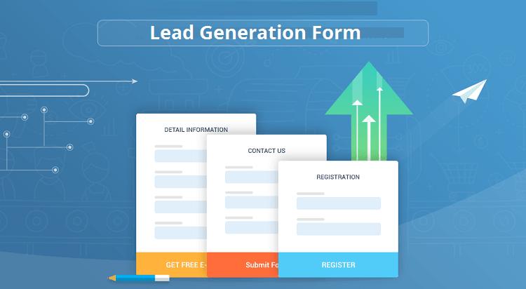 Qualche esempio di form per la lead generation