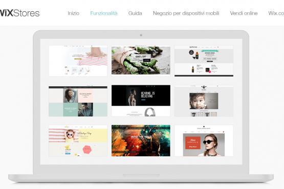 creare sito e-commerce - Wix