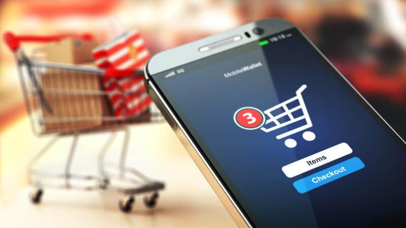 eCommerce mobile consumatori