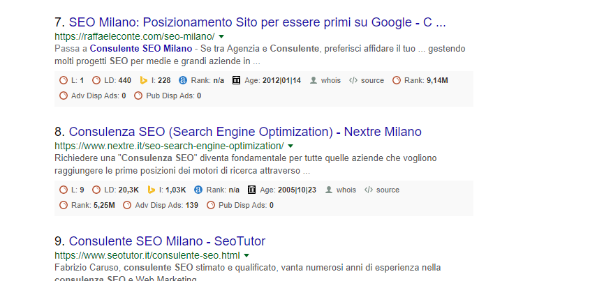 Google Local SEO Milano