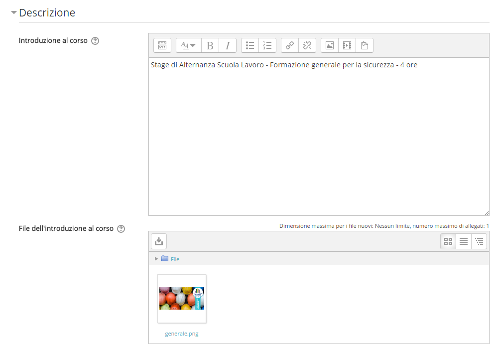 assistenza moodle