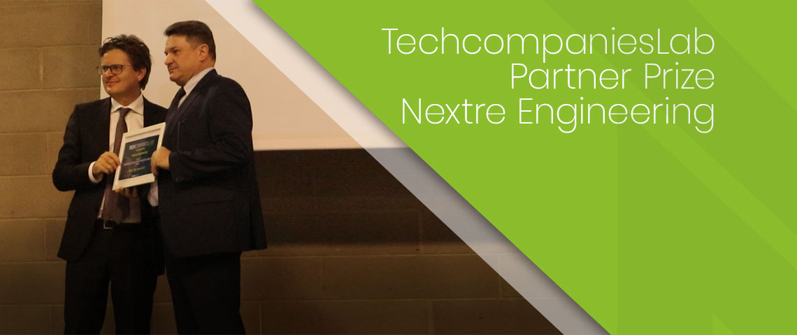 Nextre Engineering premiata al Tech Companies Lab 2018