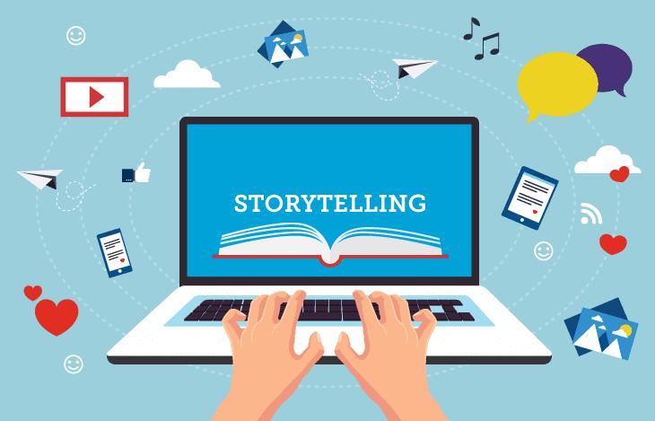 e-leaning storytelling