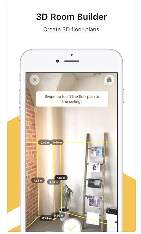 app in realtà aumentata - tapmeasure