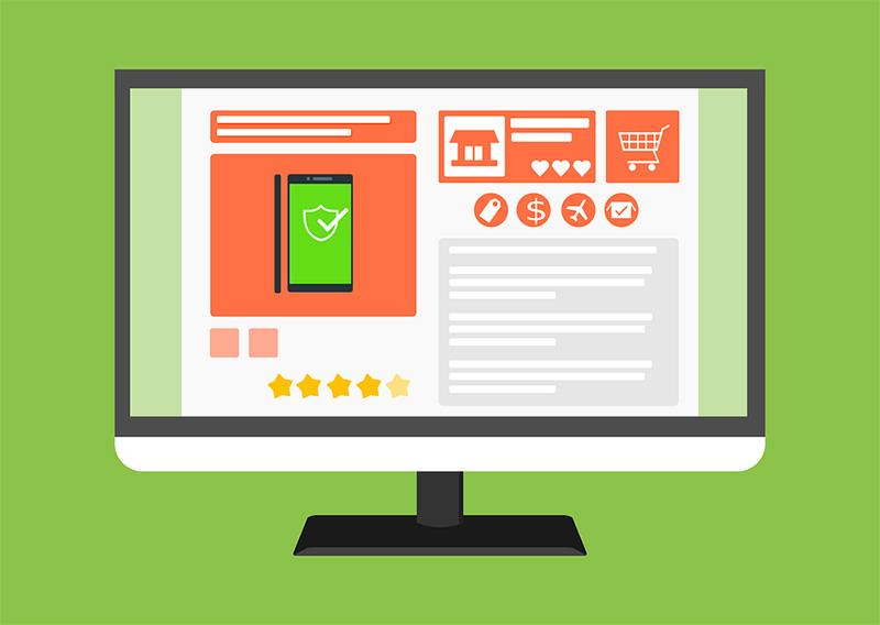 creare un sito e-commerce - schede prodotto