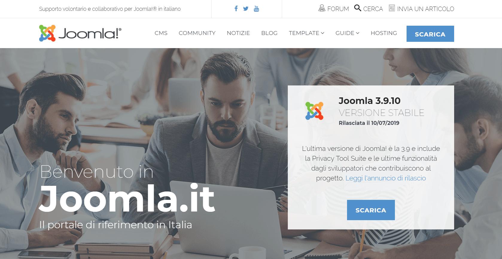 creare un sito e-commerce - joomla