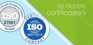 certificazioni iso nextre