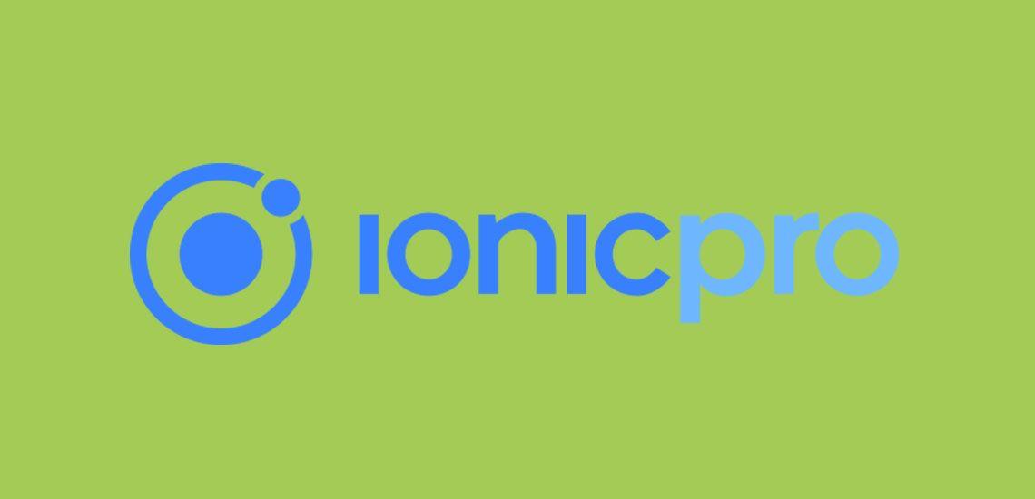 creare app ibride -ionic pro