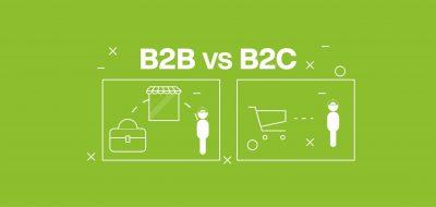 ecommerce b2b contro ecommerce b2c