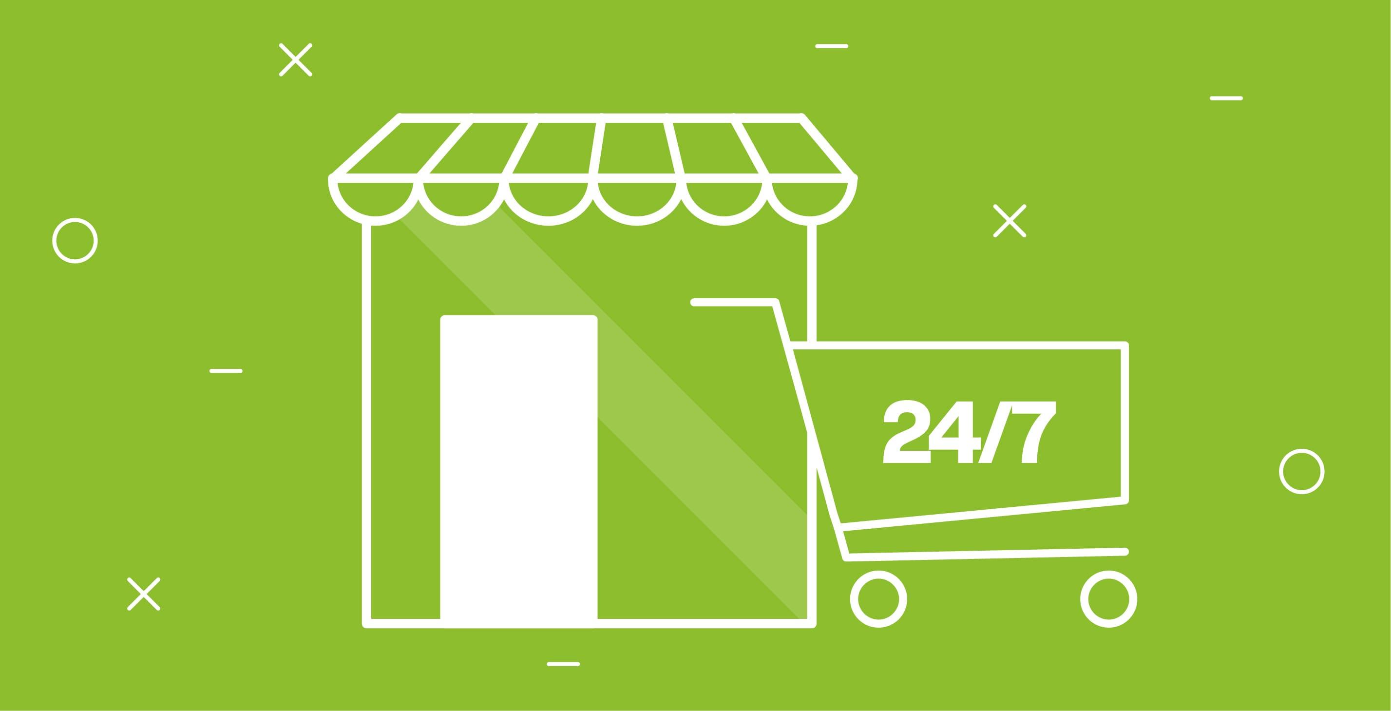 shop online aperto 24 ore su 24
