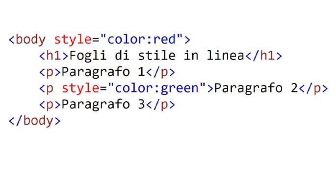 collegare css a html
