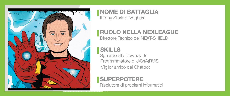 Sei già uno sviluppatore? Bene, che ne dici di affidarti al Tony Stark di Voghera? Ecco l'intervista con il CTO di Nextre