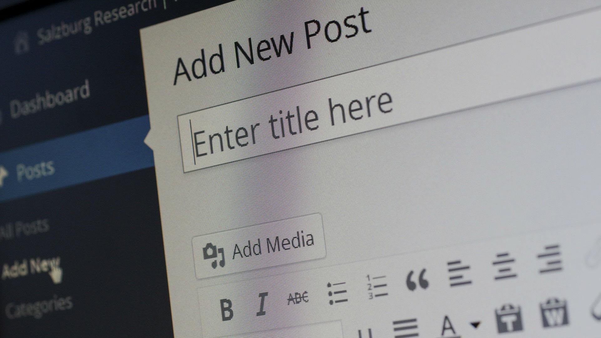 Migliorare i contenuti del blog