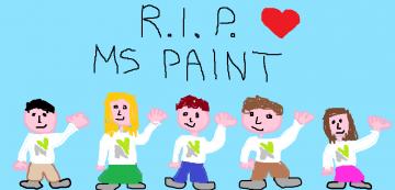 Microsoft Paint congedato dopo 32 anni