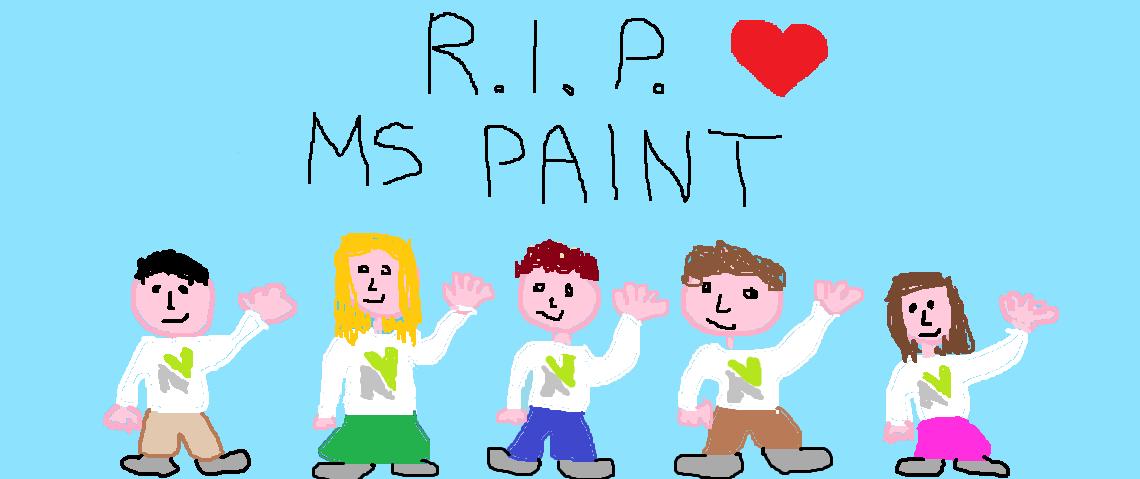 Microsoft Paint congedato dopo 32 anni di servizio per far posto a Paint 3D