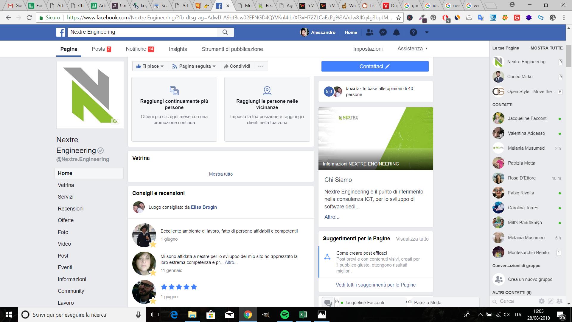 Google Local SEO - Nextre Pagina Facebook