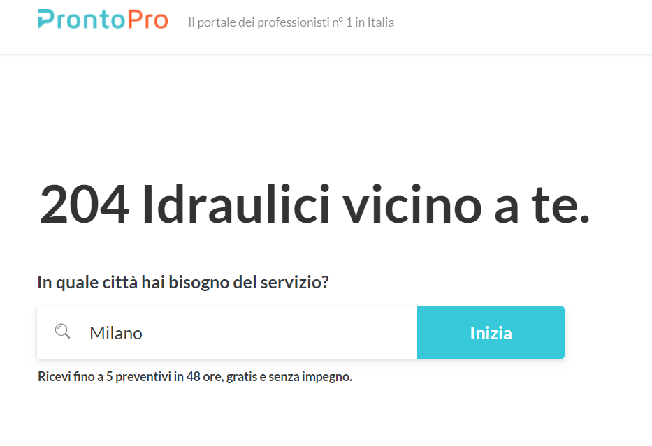 Google Local Seo - ProntoPro