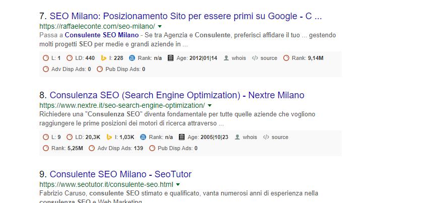 Google Local SEO Milano