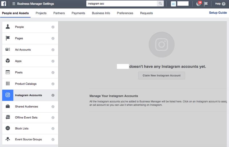 business settings instagram - social media marketing instagram