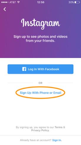 account instagram - social media marketing instagram