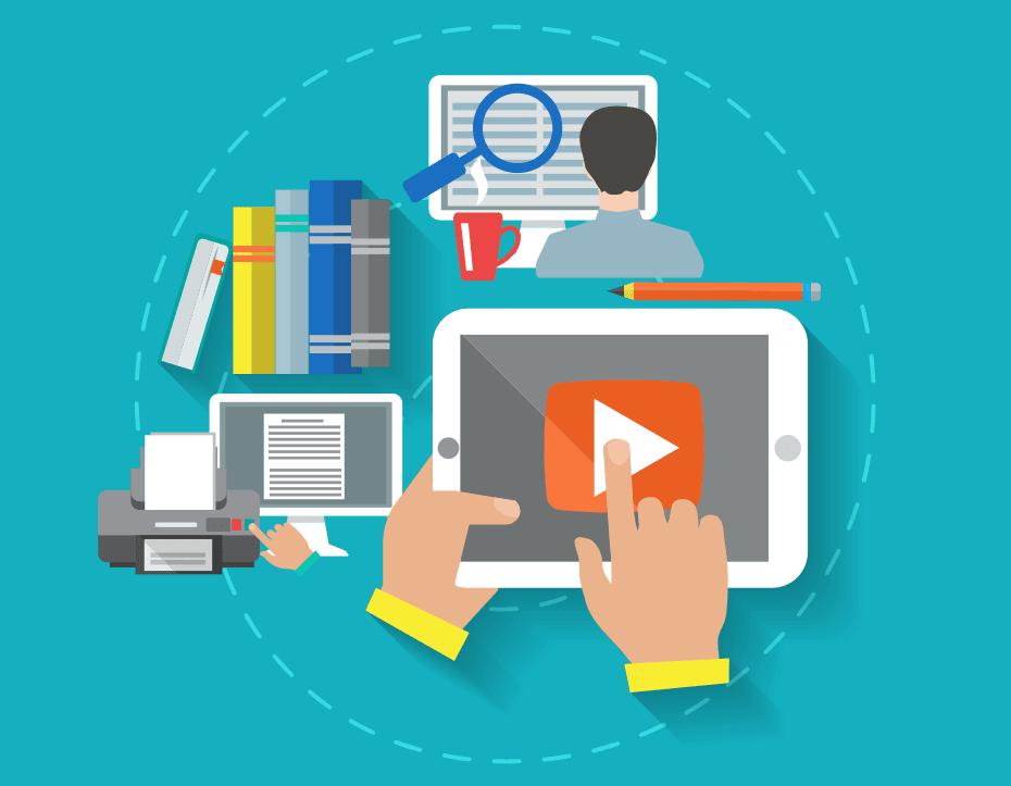 video e interazioni per soluzioni efficaci di e-learning
