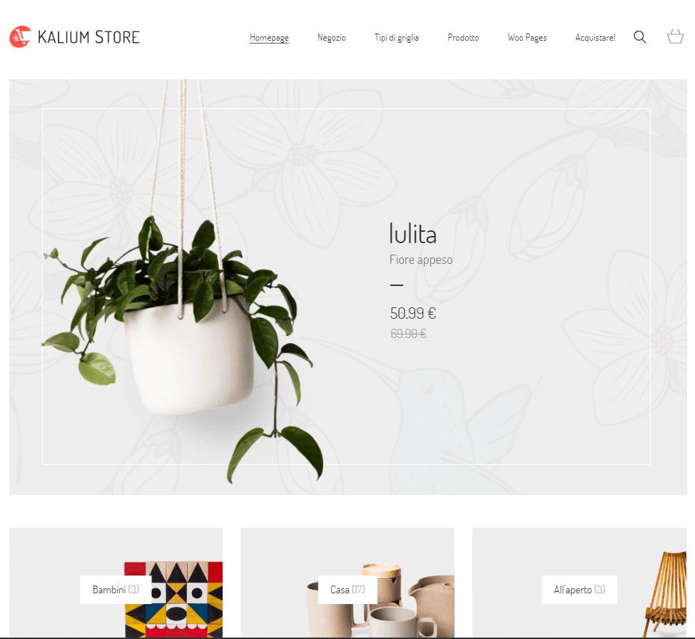 e-commerce WordPress personalizzazione