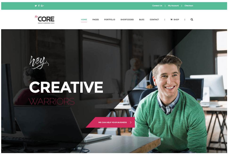 e-commerce WordPress tema
