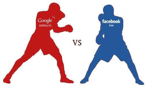 Guerra tra Titani del web: Google Adwords o Facebook Ads?