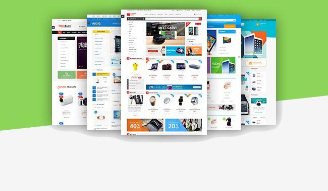 Esempi di layout su Prestahop