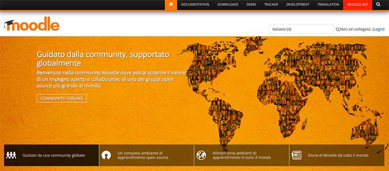 moodle e-learning - sito