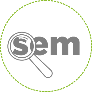 logo SEM (Search Engine Marketing)
