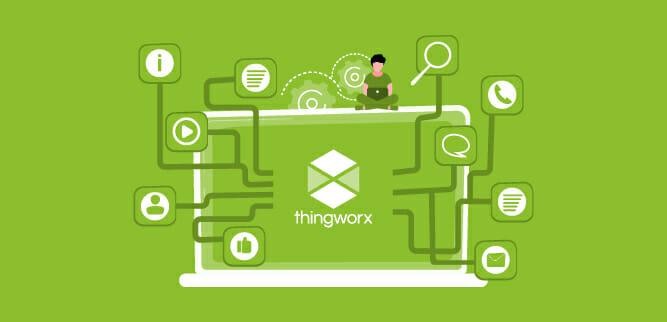 Posso avere un esempio di soluzione IoT costruita da voi con Thingworx?